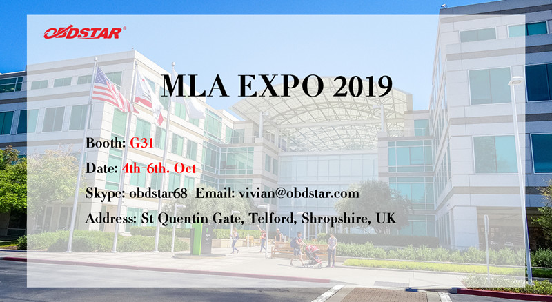 Invitation for MLA Expo 2019